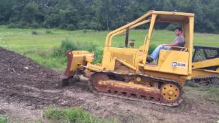 caterpillar d3b bull dozer crawler hydraulic machine for sale