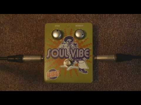 BBE Soul Vibe Demo (Floyd and melodic picking styles)