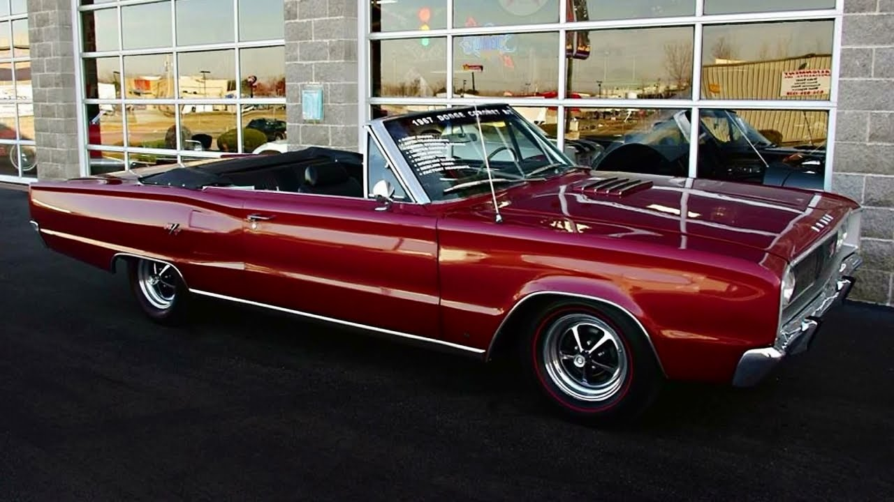 1967 Dodge Coronet RT Convertible 440 V8 Muscle Car - YouTube