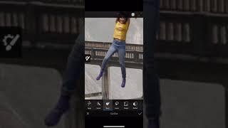 iPhone Photoshop speed edit - iPhone XS Max