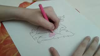 Как нарисовать кошечку МАРИ!!!