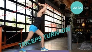 Triceps Turn-On Exercises | Perfect Form With Ashley Borden