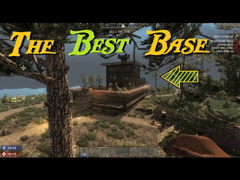 Best Base Build For 7 Days To Die Alpha 14 Youtube