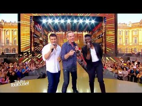 """Garou, Corneille & Roch Voisine - """"Happy"""" - Fête de la musique 2017"""