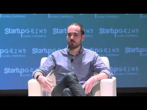 Max Mullen (Instacart) and Perri Gorman (Archively) at Startup Grind Global 2016