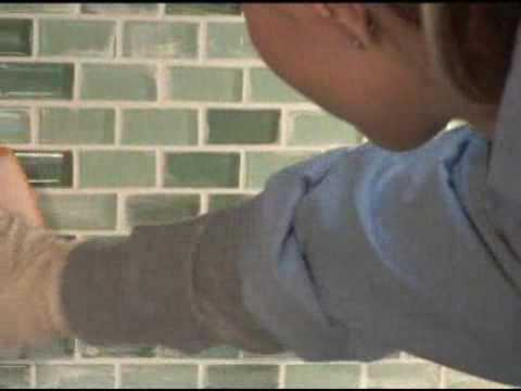 Glass Tile Installation   Tile Tips   Glass Tiles Etc.   YouTube