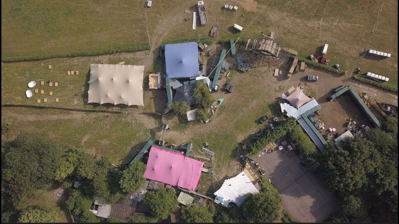 BACK OF BEYOND FESTIVAL SITE BUILD