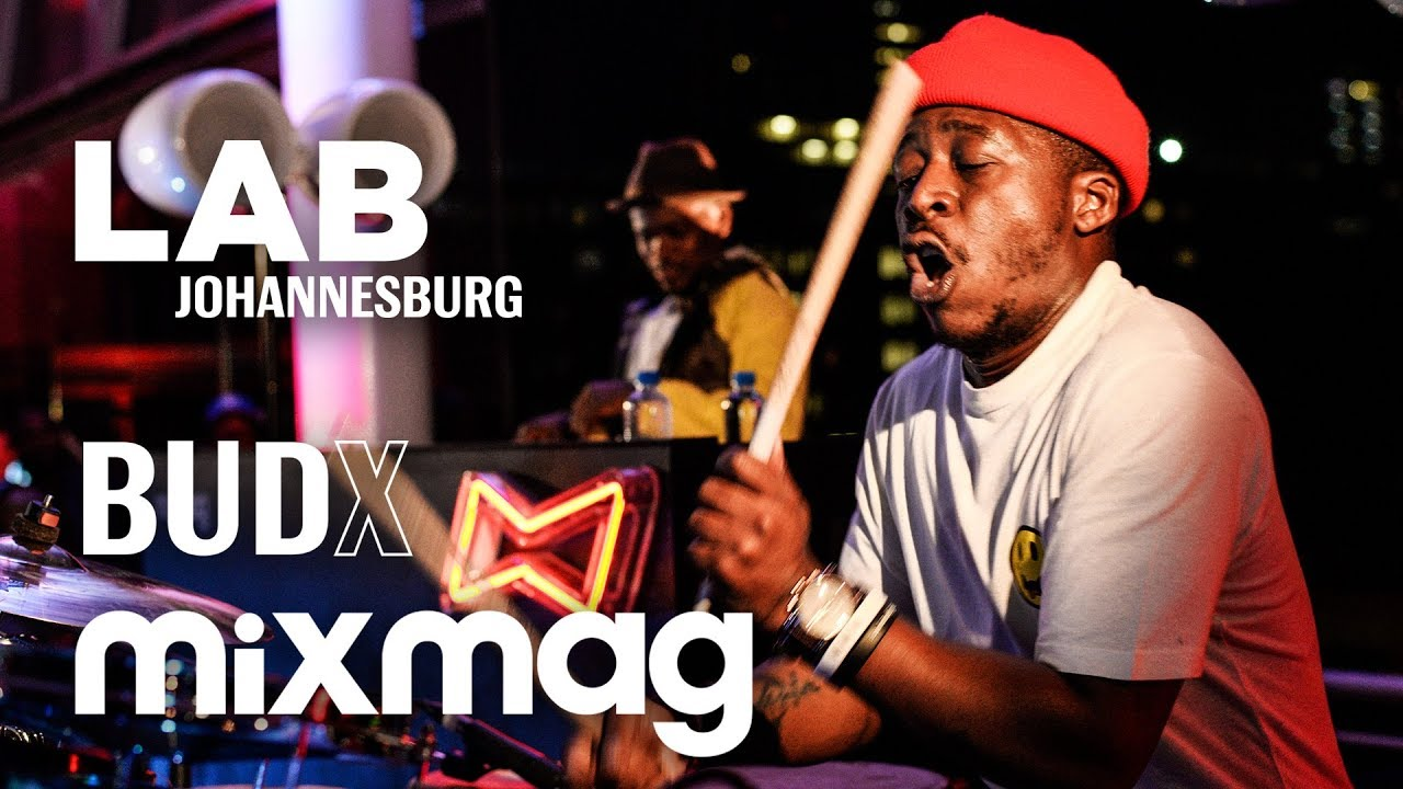 Download Black Motion epic live drum afro house set in The Lab Johannesburg