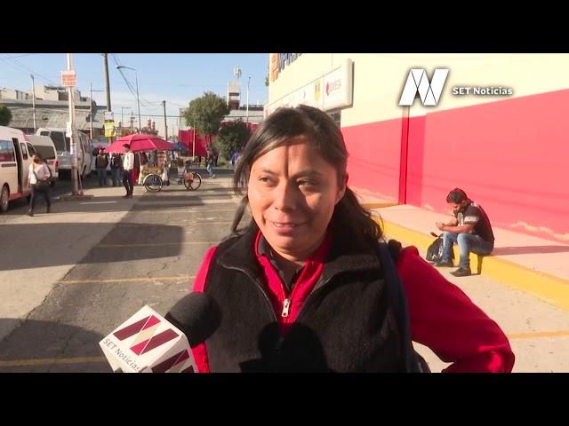 En #Puebla, algunos salen sin temor a contagios de #Coronavirus, y evitan usar cubrebocas