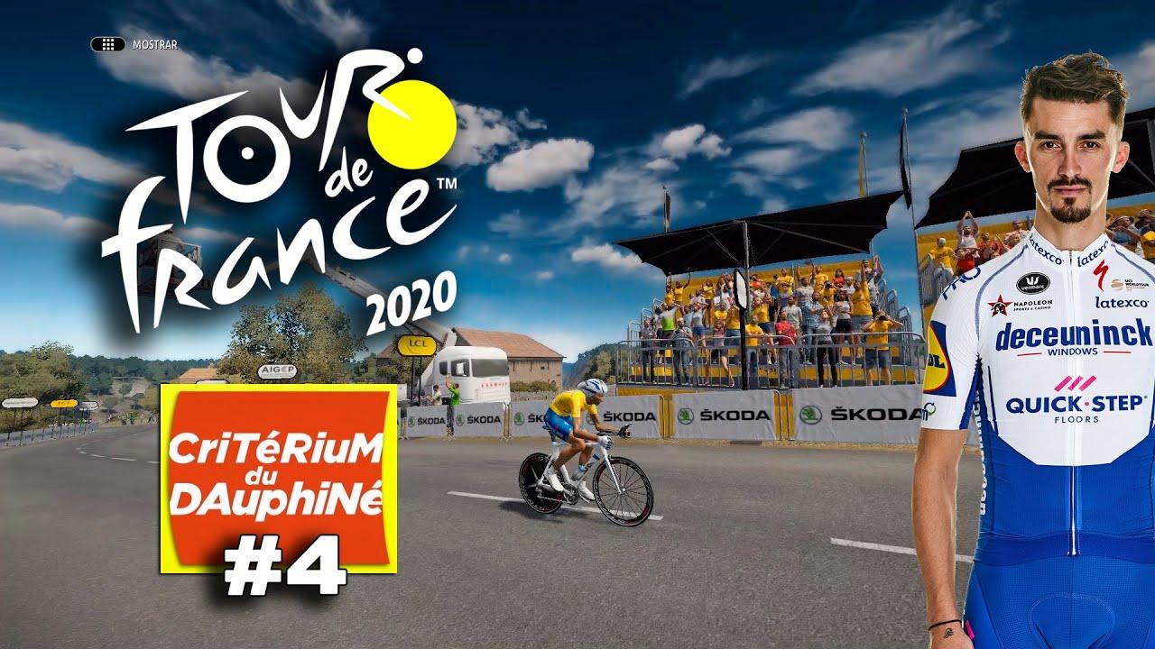 TOUR DE FRANCE 2020 Dauphiné con Alaphilippe #4 VR_JUEGOS
