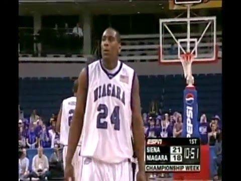 2006-2007 Niagara Basketball Highlights