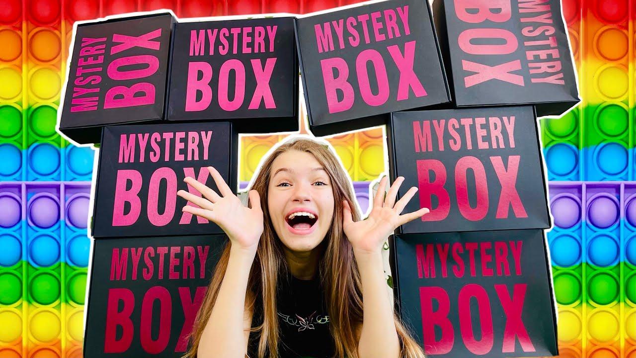 Поп Ит и Симпл Димпл бокс от Mystery Box / Что внутри? косметика канцелярия, iPhone 13 ? / НАША МАША