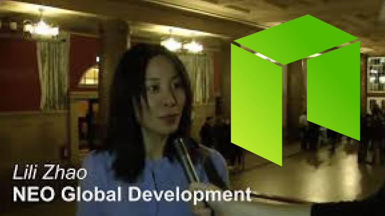 Lili Zhao shares latest NEO news at Blockchain Symposium Freiburg