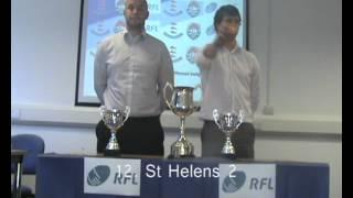 Y9 NW Champion schools Draw 2012/13