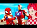 Iron Man ADOPTS Spider Man in GTA 5! (Funny RP Moments!)