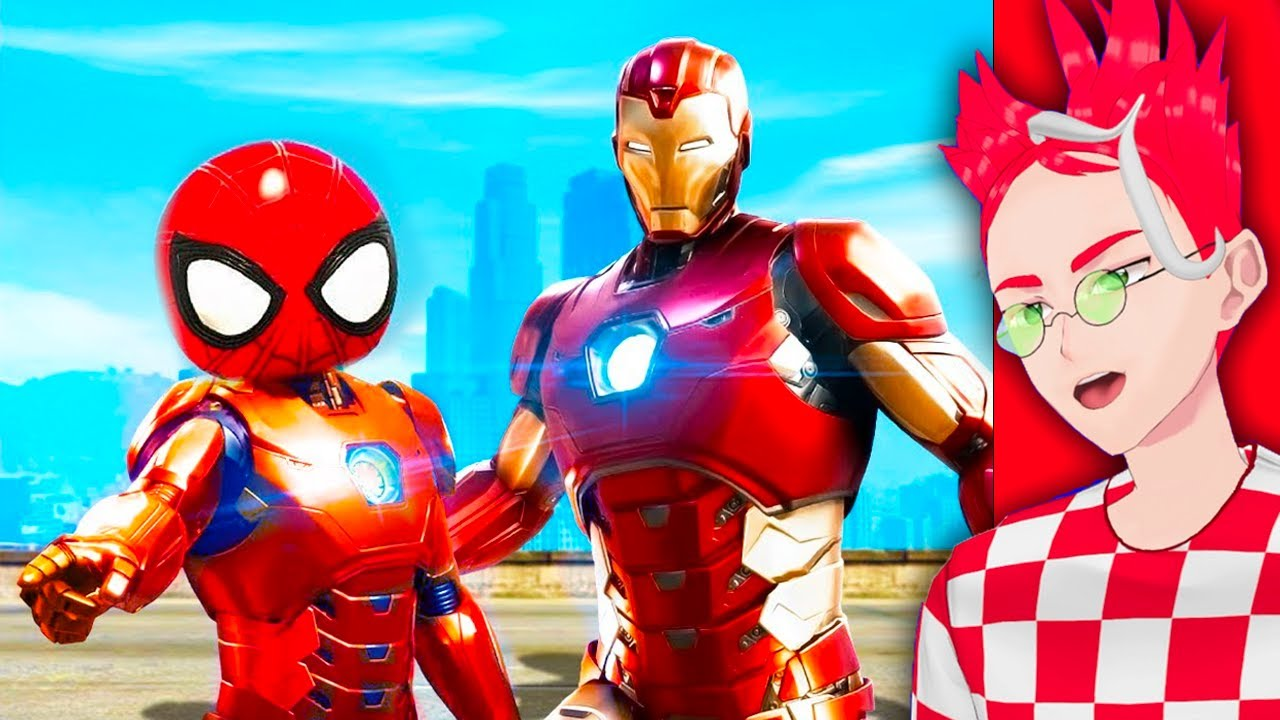 Download Iron Man ADOPTS Spider Man in GTA 5! (Funny RP Moments!)