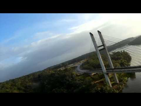 Oyapoc bridge, FPV
