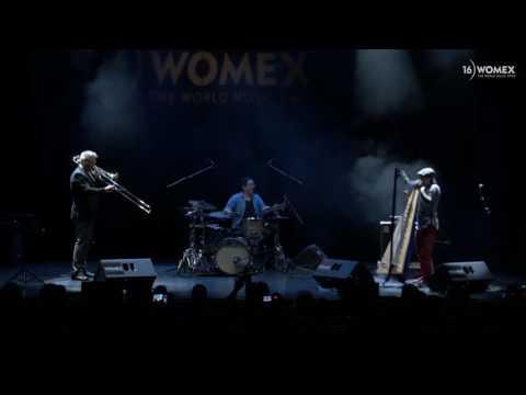 Edmar Castaneda Trio - Entre cuerdas (excerpt) - Live at WOMEX 16