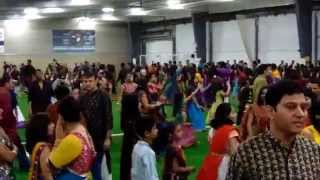 Achal Mehta Garba Toronto 2014 Part-1