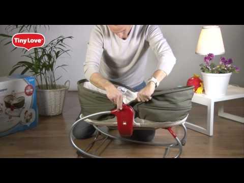 Люлька для новорожденного электронная на колесах