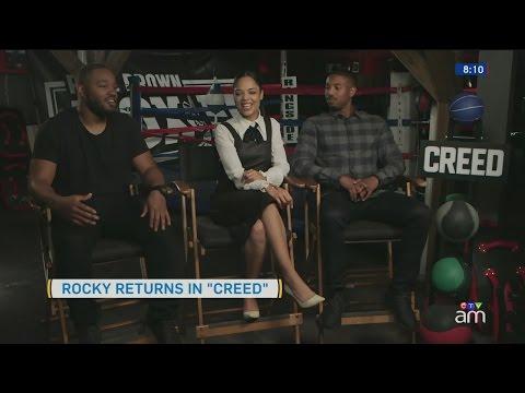 'Rocky' returns to train son of 'Apollo Creed' in new film