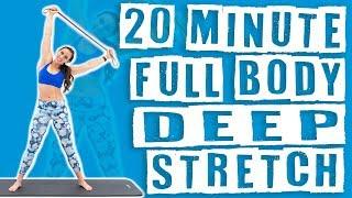 20 Minute Full Body Deep Stretch Sydney Cummings screenshot 2