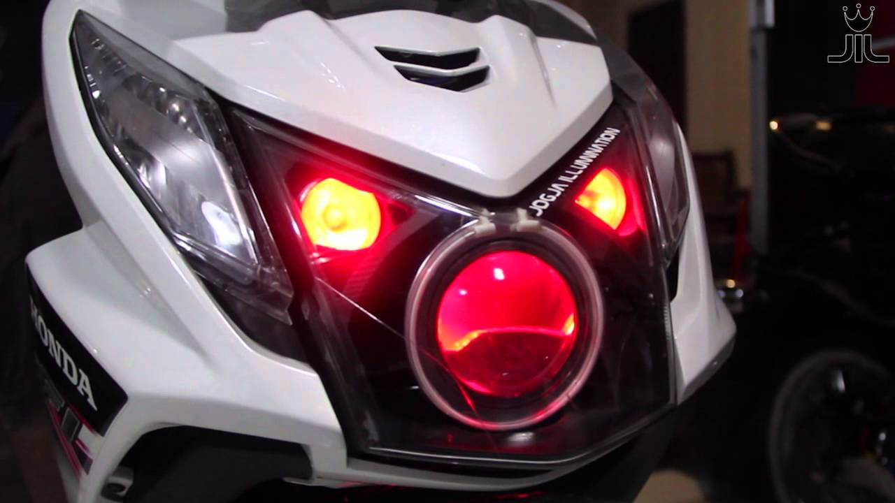 100 Modifikasi Lampu Honda Beat Fi Modifikasi Motor Beat Terbaru