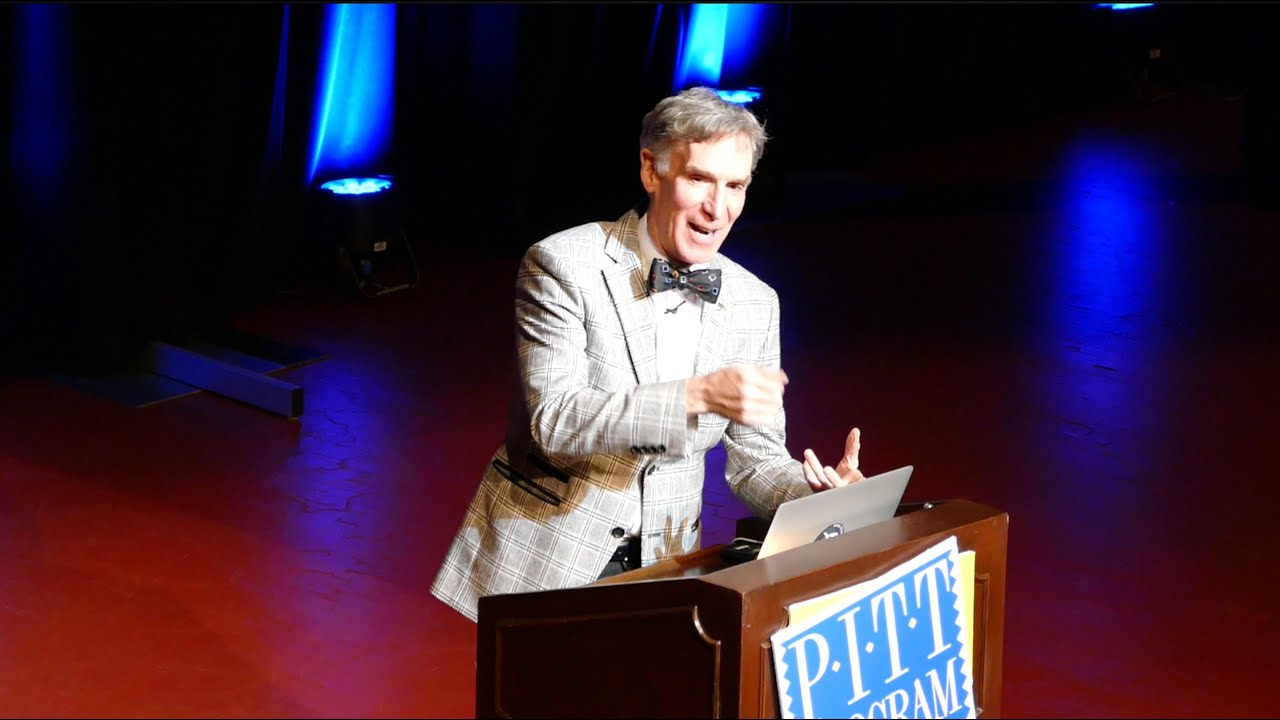 bill nye the science guy talks climate change and space bill nye the science guy talks climate change and space exploration at pitt