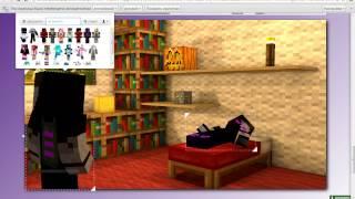 Как сделать 3D картинку майнкрафт без програм