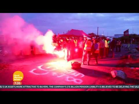 Protests And Strikes In France Causing Major Disruption | Good Morning Britain