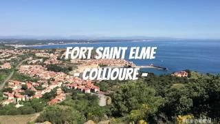 Visite du Fort Saint Elme à Collioure - Hello les Mômes 66