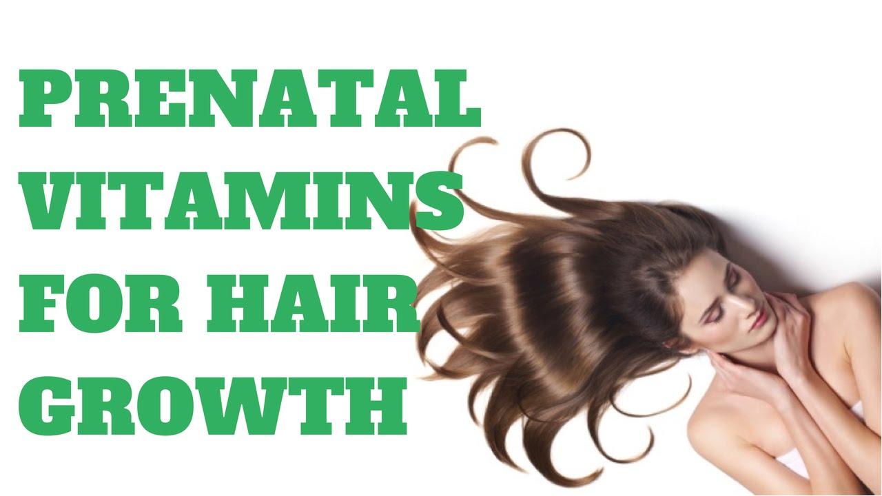 Taking Prenatal Vitamins For Hair Growth? - YouTube