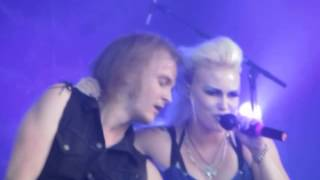 Battle Beast : Out on the streets, Live at Sotkamon Syke 2014 in Vuokatti Finland