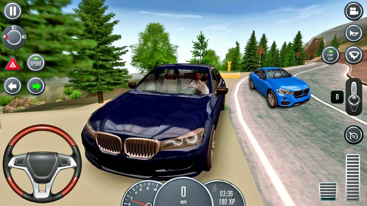 Car Games 2016 >> Driving School 2016 11 Bmw Car Game Android Ios Gameplay