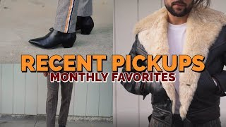 Recent Pickups / Monthly Favorites 2018: Vintage Jewelry, Shearling Jacket & Trends