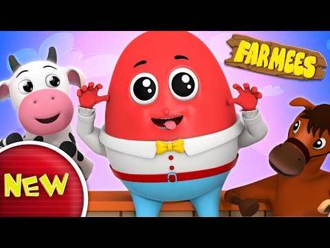 Humpty Dumpty Sat On A Wall | Nursery Rhymes | Baby Songs | Children Rhymes by Farmees S02E173