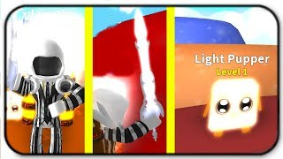 (Light Pack) Light Sword, Light Pupper And Light Dominus - Roblox Mining Simulator