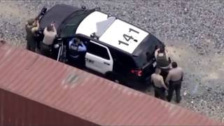 Crazy Southern California Police Chase