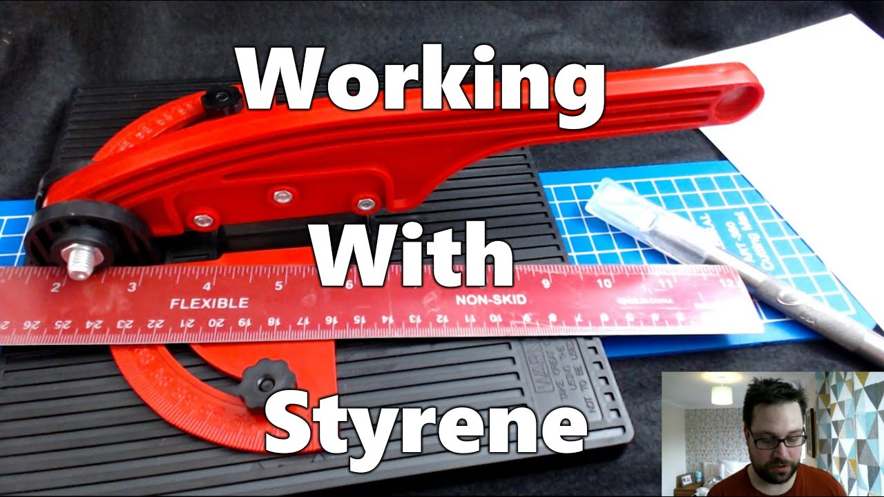 Working With Styrene Cutting Sheets Youtube