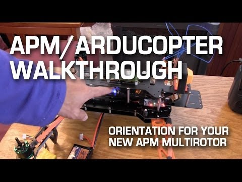 APM Arducopter Multirotor Tutorial
