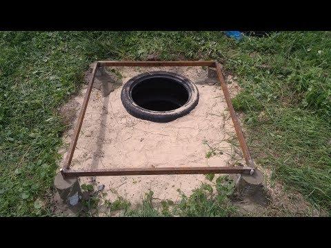 Дачный туалет своими руками. Часть 2. Основание.