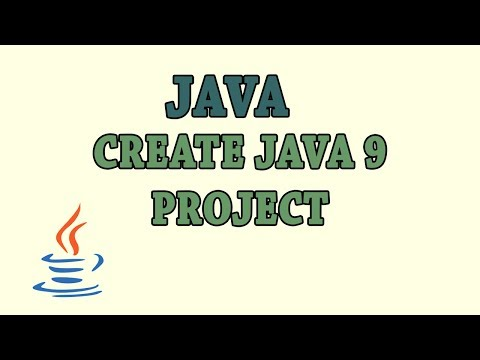 Create Java 9 project with Maven - YouTube
