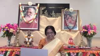 Vivekachudamani by Sharada Kumar Amma   Day3