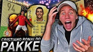 CRISTIANO RONALDO I PAKKE PÅ FIFA 18!! 💥 BARE WALKOUTS I EN PAKKEÅPNING!!