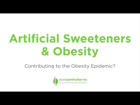 Artificial Sweeteners and Obesity