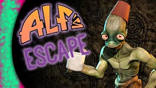 oddworld new n tasty abe s oddysee hard mode alf s escape full playthrough review ps4