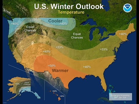 NOAA PREDICTS ITS THIRD WARM WINTER IN A ROW - Holding the forecasters accountable
