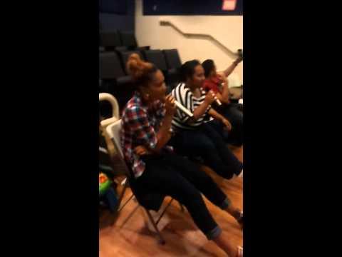 Karaoke YC Mailikai Samoan Ward Activity - Sister Chong and Sister Ma'osi - The moment I saw you cry