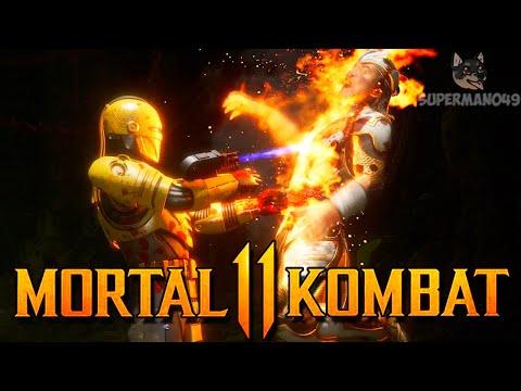 "THE BRUTALITY MAKES HIM RAGE QUIT! - Mortal Kombat 11: ""Robocop"" Gameplay"