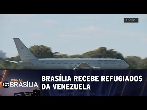 Brasília recebe refugiados da Venezuela | Jornal SBT Brasília 24/07/2018